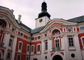 broumovský klášter prohlídky