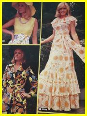 1022c010ce21 Kromě pletení se ujímá popularity i háčkování a to klidně i celých dámských  šatů.